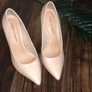 Christian Siriano Shoes - Nude Heels